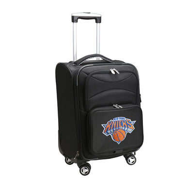 New York Knicks Luggage Carry-On 21in Spinner Softside Nylon