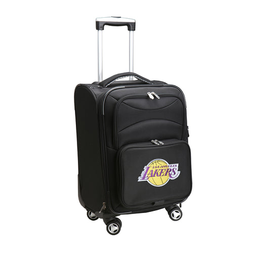 Los Angeles Lakers Luggage Carry-On 21in Spinner Softside Nylon