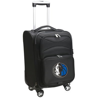 Dallas Mavericks Luggage Carry-On 21in Spinner Softside Nylon