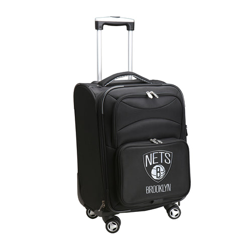 Brooklyn Nets Luggage Carry-On 21in Spinner Softside Nylon