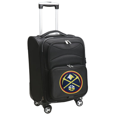 Denver Nuggets Luggage Carry-On 21in Spinner Softside Nylon