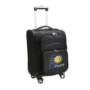 Indiana Pacers Luggage Carry-On 21in Spinner Softside Nylon