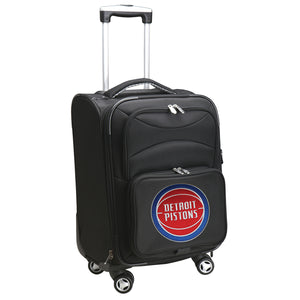 Detroit Pistons Luggage Carry-On 21in Spinner Softside Nylon