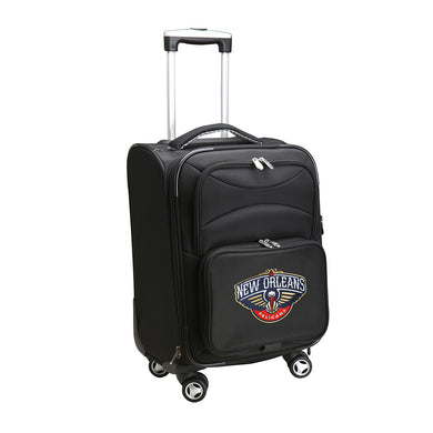 New Orleans Pelicans Luggage Carry-On 21in Spinner Softside Nylon