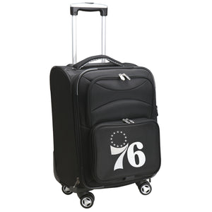 Philadelphia 76ers Luggage Carry-On 21in Spinner Softside Nylon