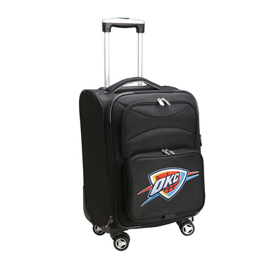 Oklahoma City Thunder Luggage Carry-On 21in Spinner Softside Nylon