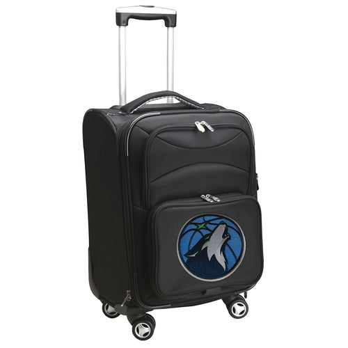Minnesota Timberwolves Luggage Carry-On 21in Spinner Softside Nylon