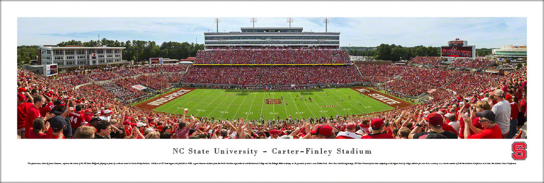 North Carolina State Wolfpack Football Carter-Finley Stadium Panoramic Picture