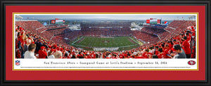 San Francisco 49ers Panoramic Levi's Stadium Panoramic Picture