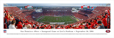 San Francisco 49ers Panoramic Levi's Stadium Panoramic Picture 1st Game