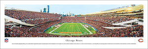 Chicago Bears Soldier Field Endzone Panoramic Picture