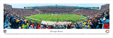 Chicago Bears Soldier Field 50 Yard Line Panoramic Picture