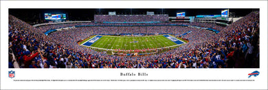 Buffalo Bills New Era Field Panoramic Picture