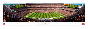 Cleveland Browns FirstEnergy Stadium Panoramic Picture
