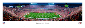 Kansas City Chiefs Arrowhead Stadium Night Game Panoramic Picture