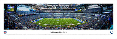 Indianapolis Colts Lucas Oil Stadium 50 Yard Line Panoramic Picture