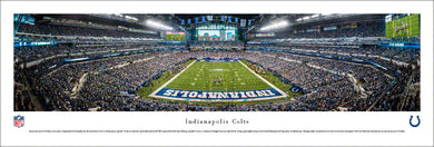 Indianapolis Colts Lucas Oil Stadium Endzone Panoramic Picture