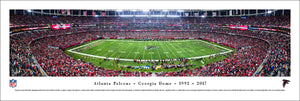 Atlanta Falcons Georgia Dome Final Game Panoramic Picture