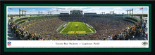 Green Bay Packers Lambeau Field End Zone Panoramic Picture