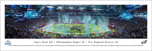 Philadelphia Eagles Super Bowl 52 Champions Panoramic Picture