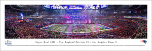 New England Patriots Super Bowl 53 Champions Panoramic Picture
