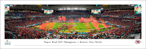 Kansas City Chiefs Super Bowl 54 Champions Panoramic Picture