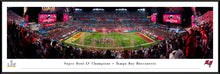 Tampa Bay Buccaneers Super Bowl LV Champions Panoramic Picture