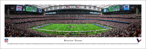 Houston Texans NRG Stadium 50 Yard Line Panoramic Picture
