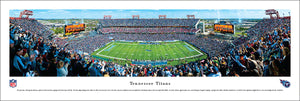Tennessee Titans LP Field 50 Yard Line Panoramic Picture