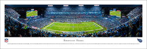 Tennessee Titans Nissan Stadium Night Panoramic Picture