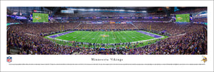 Minnesota Vikings U.S. Bank Stadium Inaugural Game Panoramic Picture