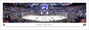 Columbus Blue Jackets Nationwide Arena Fan Cave Panoramic Picture