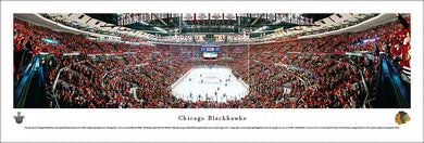 Chicago Blackhawks United Center Panoramic Picture