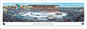 NHL fan gear unframed panorama 2017 Centennial Classic Maple Leafs vs. Red Wings - Sports Fanz