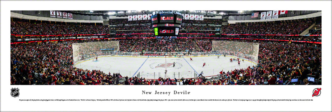 New Jersey Devils Prudential Center Panoramic Picture