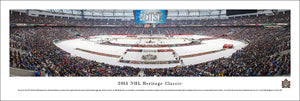 2014 Heritage Classic Ottawa Senators vs. Vancouver Canucks Panoramic Picture