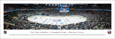 New York Islanders Barclays Center Inaugural Game Panoramic Picture