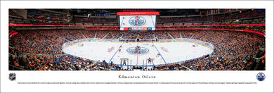 Edmonton Oilers Rogers Place Inaugural Game Panoramic Picture