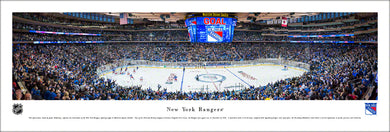 New York Rangers Madison Square Garden Panoramic Picture