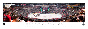 Washington Capitals 2018 Stanley Cup Champions Panoramic Picture