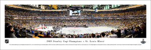 St. Louis Blues 2019 Stanley Cup Champions Panoramic Picture