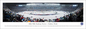 2014 Stadium Series Chicago Blackhawks vs. Pittsburgh Penguins Panoramic Picture
