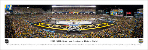NHL fan gear unframed panorama 2017 Stadium Series Penguins vs. Flyers - Sports Fanz