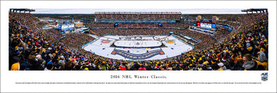 2016 NHL Winter Classic Boston Bruins vs. Montreal Canadiens Panoramic Picture