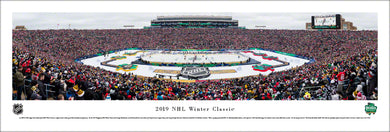 2019 NHL Winter Classic Boston Bruins vs. Chicago Blackhawks Panoramic Picture