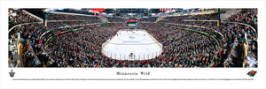 Minnesota Wild XCEL Energy Center Panoramic Picture