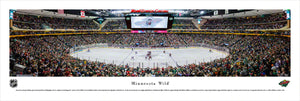 Minnesota Wild XCEL Energy Center Center Ice Panoramic Picture