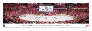 Detroit Red Wings Little Caesars Arena Inaugural Game Panoramic Picture