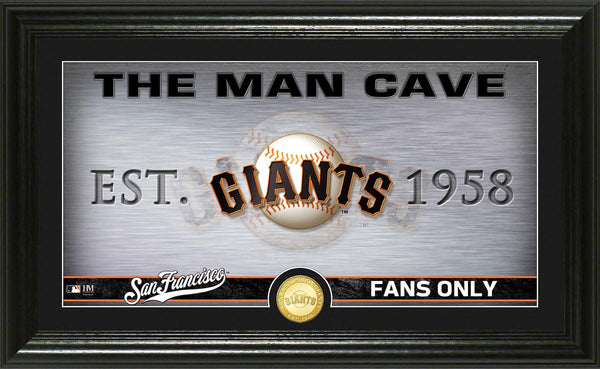 San Francisco Giants man cave