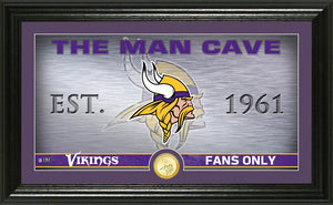 minnesota vikings man cave